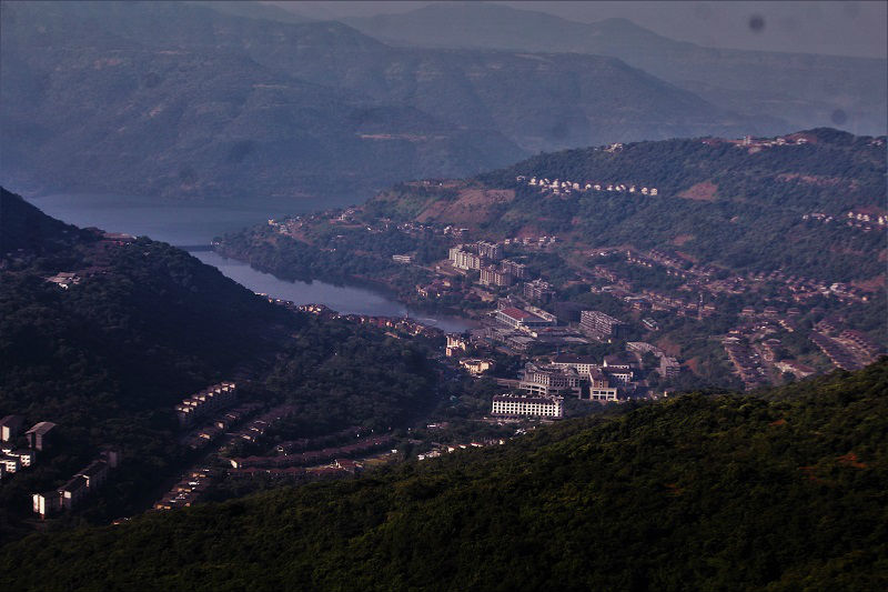 Lavasa city view from top