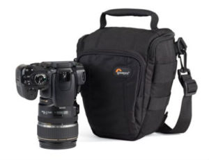 Lowepro Toploader Zoom 50 AW essential travel items