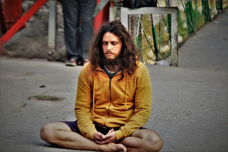 Meditation Laxman Jhula Rishikesh Uttarakhand