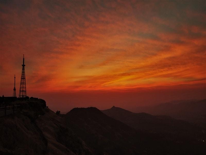 Morning hues before sunrise