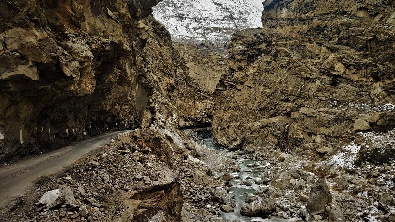 Mountain side roads