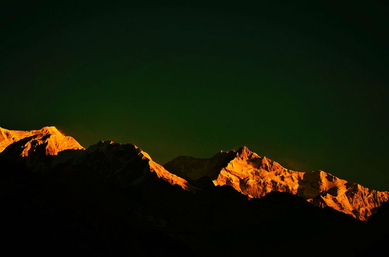 Mt Kanchenjunga view from Pelling Sikkim