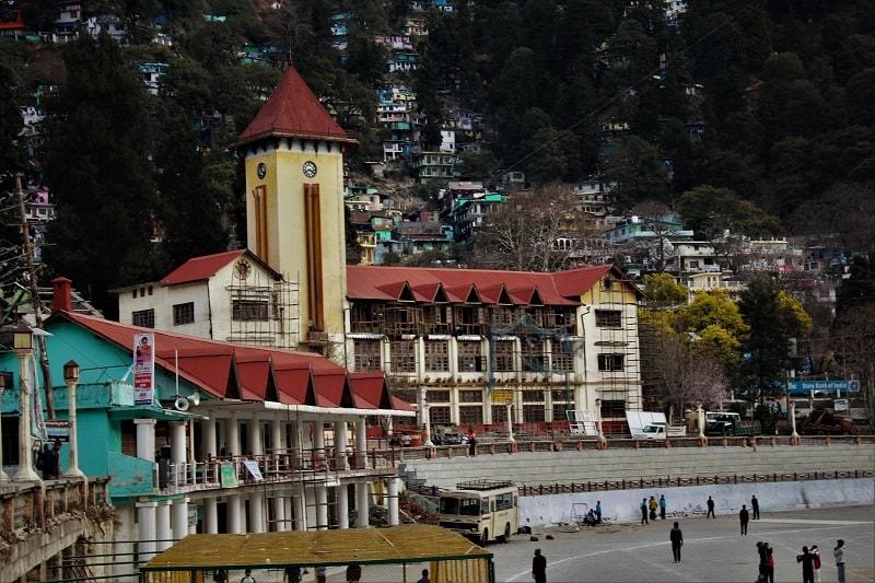 Nainital stadium Nainital Uttarakhand