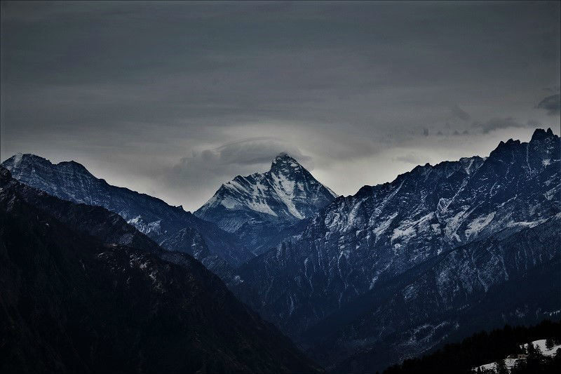 Nanda Devi at Auli Hill Station Uttrakhand