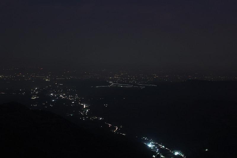 Night view from Sinhagad
