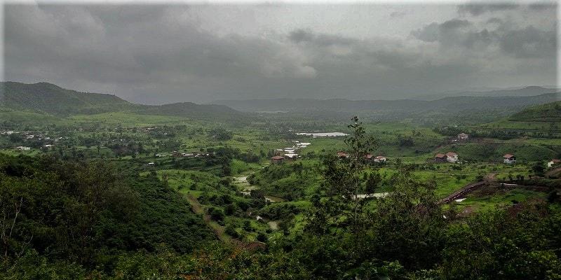 On way to Purandar Fort