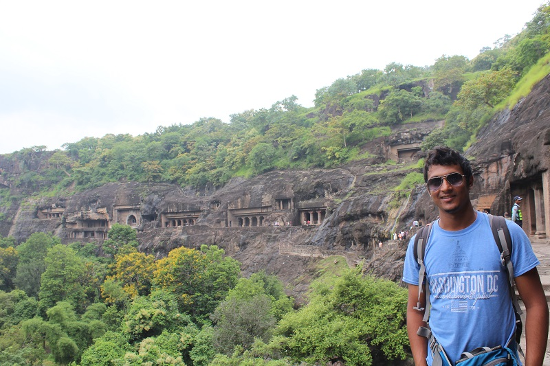 Onacheaptrip at Ajanta Caves