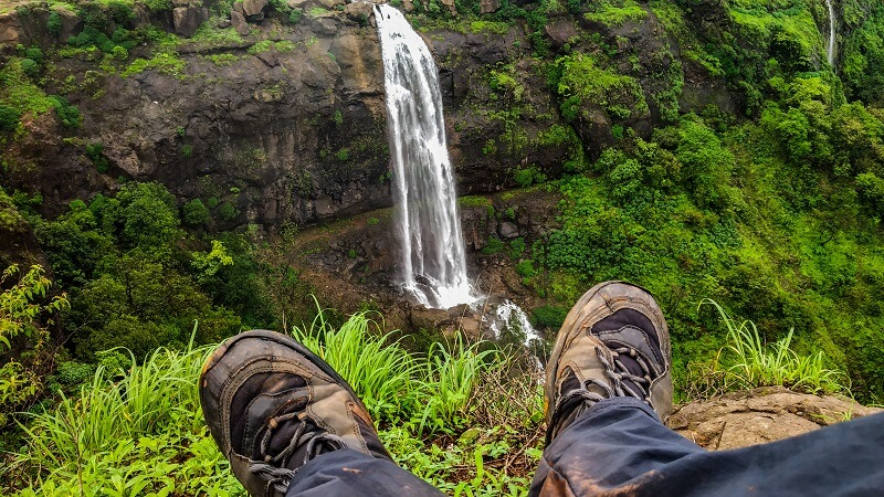 Onacheaptrip at Madhe Ghat Waterfall
