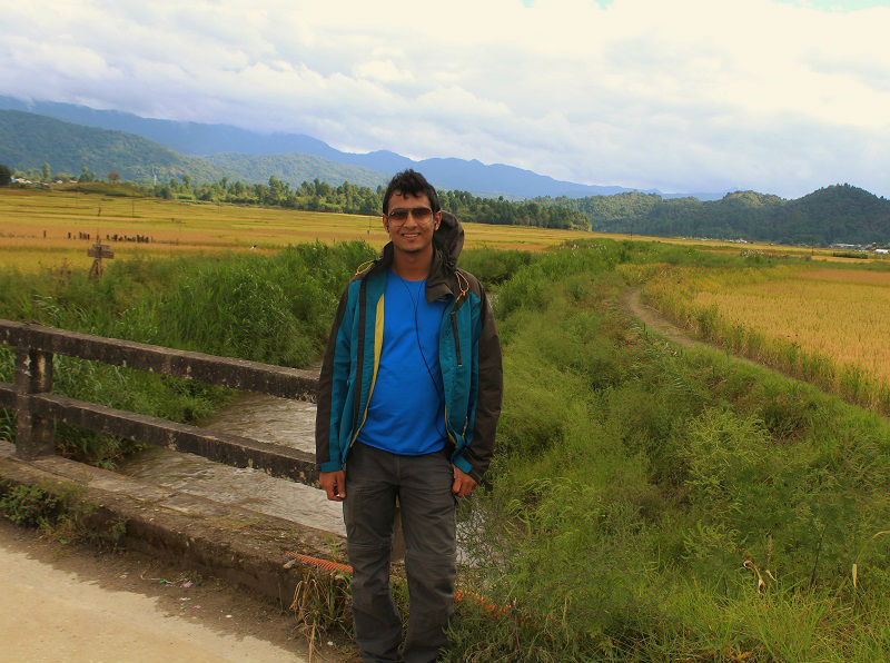 Onacheaptrip at Ziro valley Arunachal pradesh