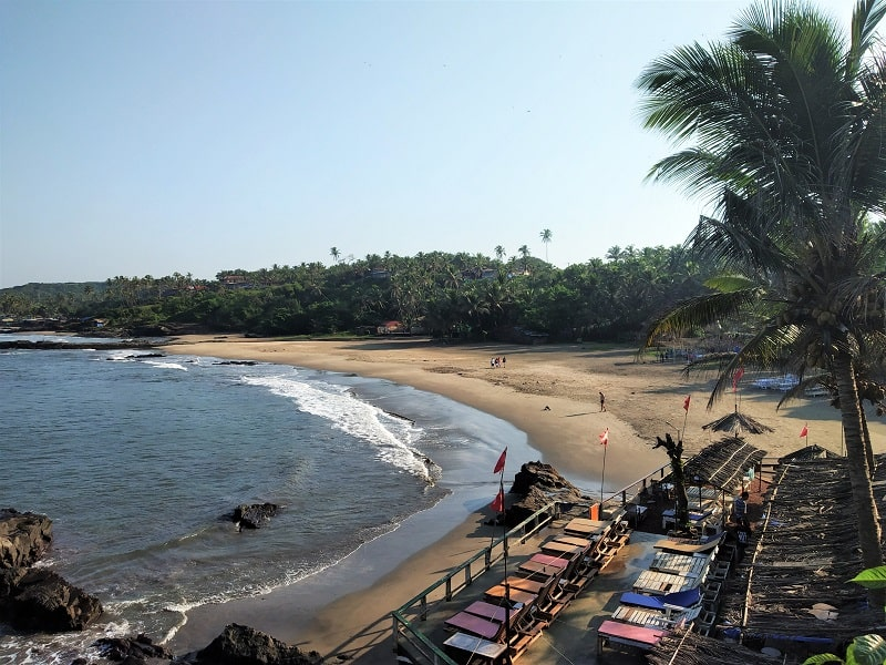 Ozran Beach North Goa