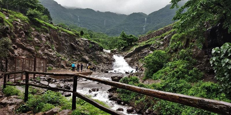 Palase waterfall Tamhini Ghat Pune