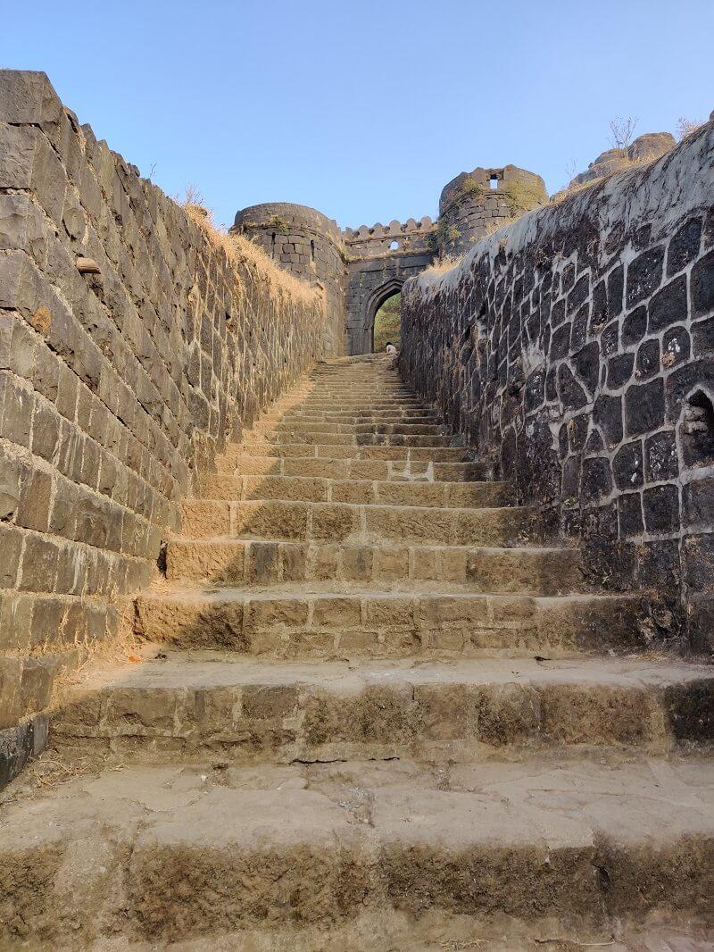Pali Entrance for Rajgad Fort