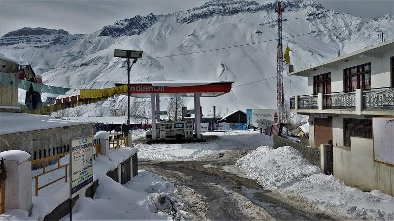 Petrol Pump at Kaza