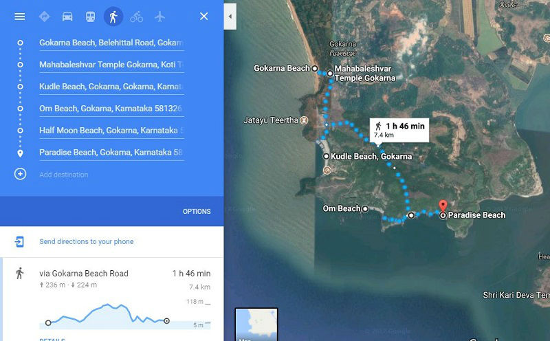 Places to see in Gokarna Karnataka