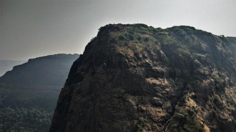 Prabhalgad as seen on Kalavantin Durg Trek