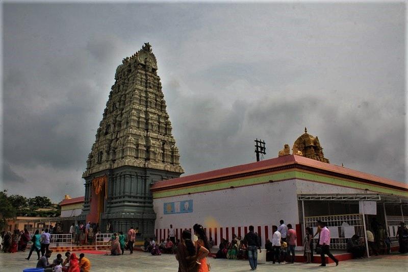 Prati Balaji Temple on way to Purandar Fort