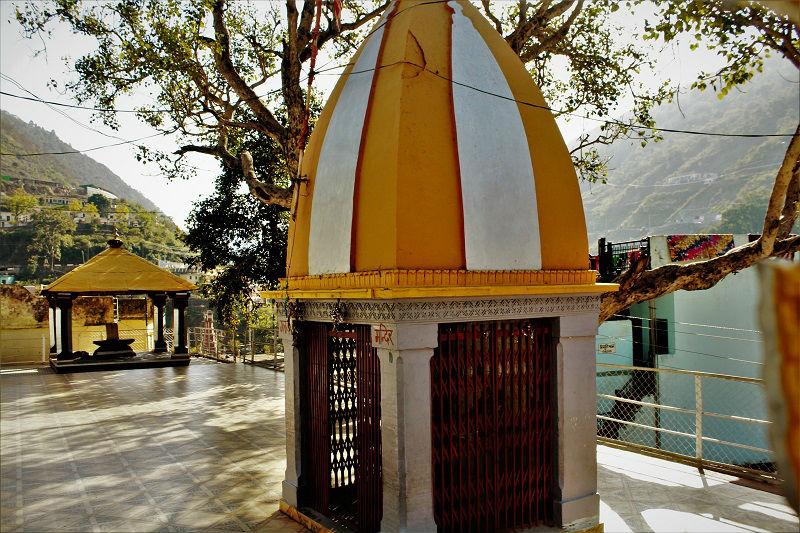 Raghunath Temple front part Devprayag Uttarakhand