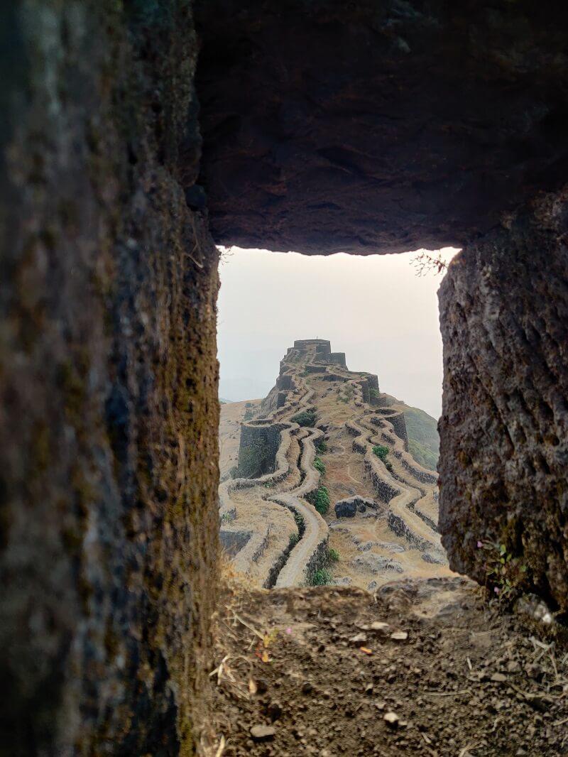 Rajgad fort near Mumbai Pune