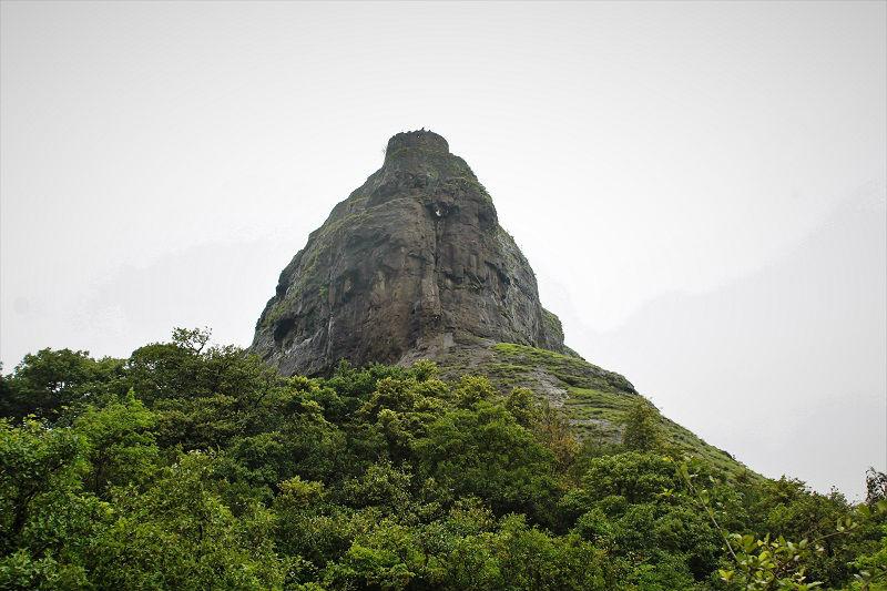 Rajmachi Fort from base