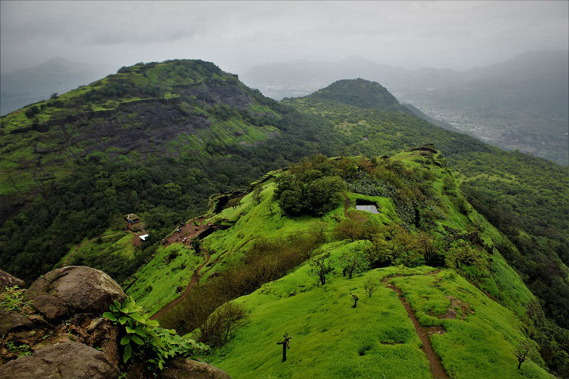 Rajmachi fort view