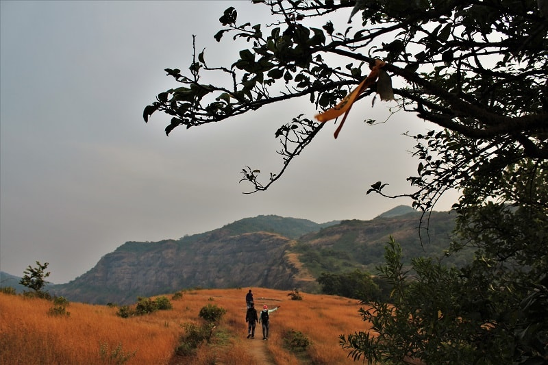 Ribbions guiding Dhak Bahiri Cave trek trail
