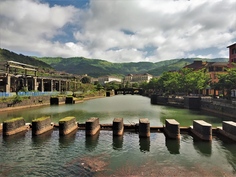 River at Lavasa City