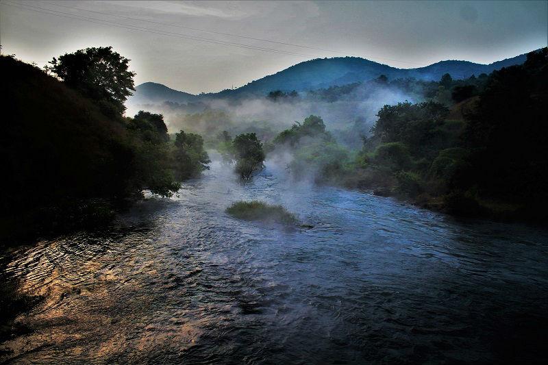 River near Temghar Dam