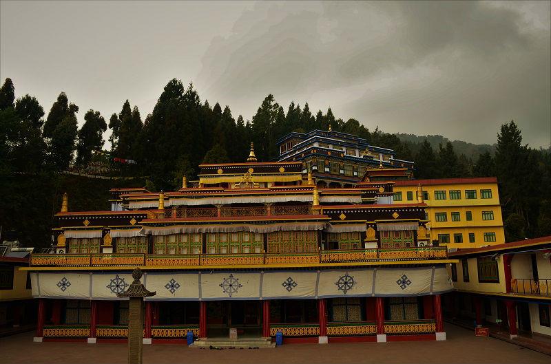 Rumtek Monastery Gangtok Sikkim