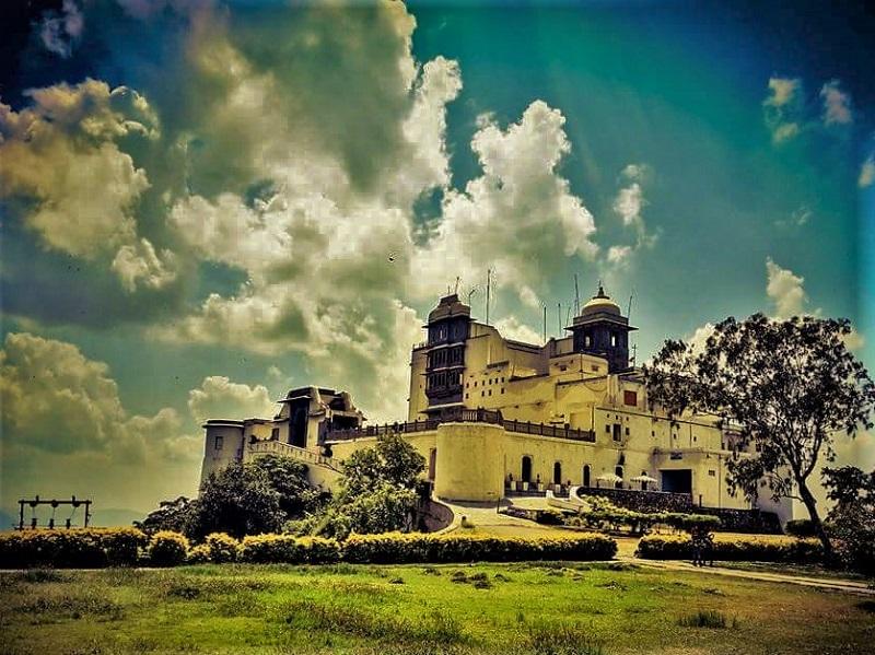 Sajjangarh Palace udaipur city