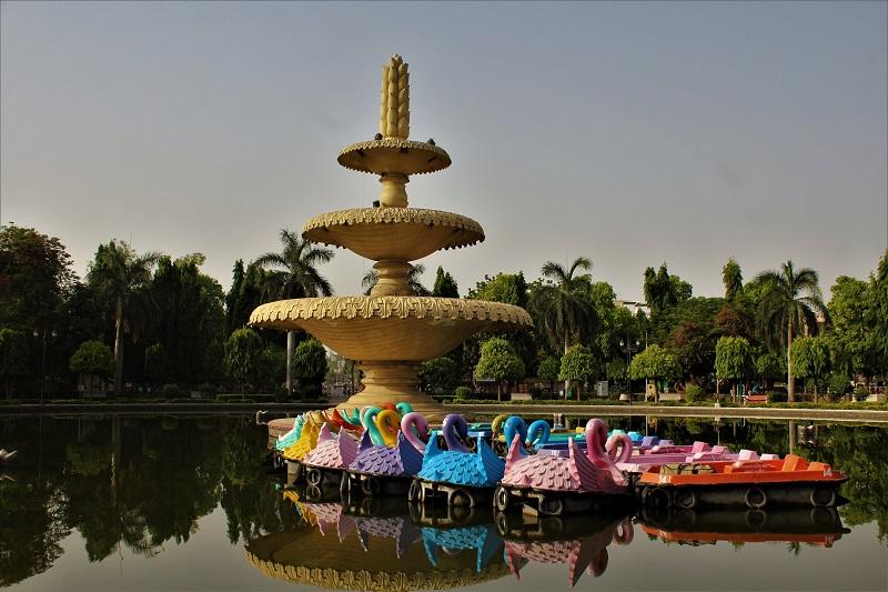 Sukhadia Circle Udaipur city