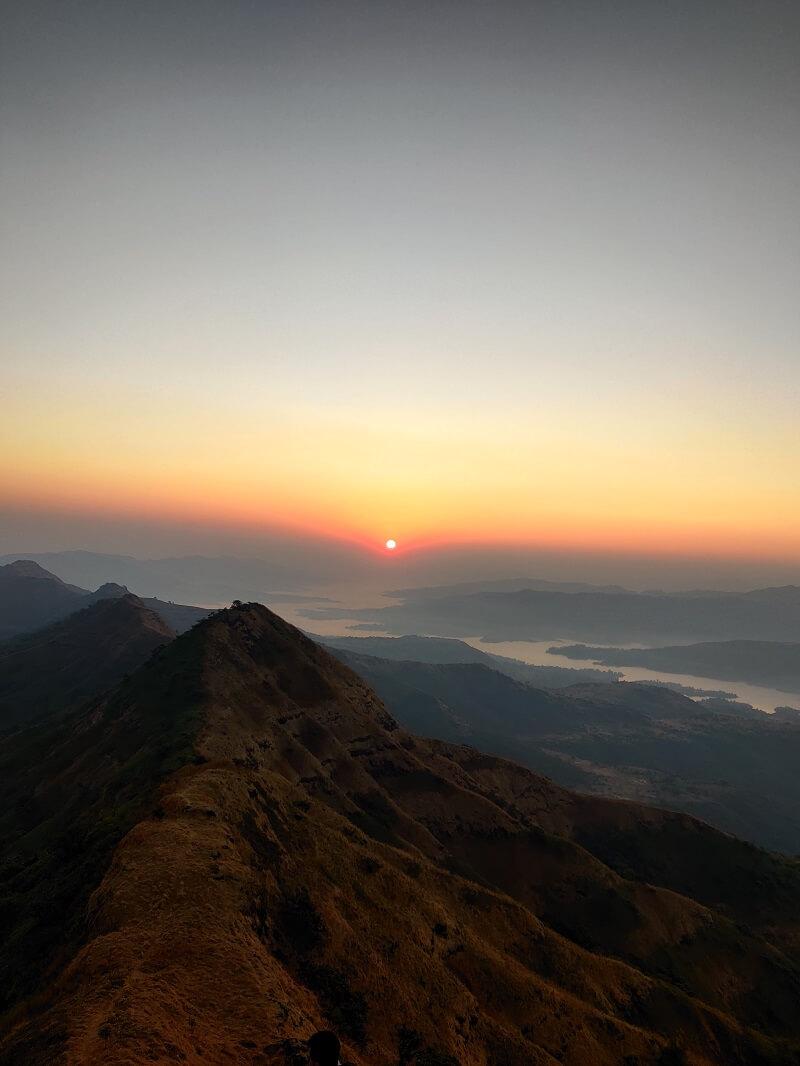 Sunrise view from Suvela Machi