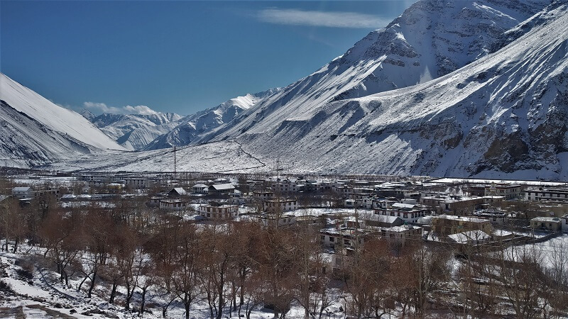 Tabo Town Spiti valley