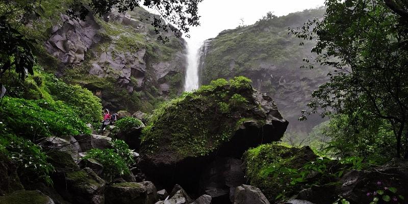 Tamhini waterfall near Mumbai Pune