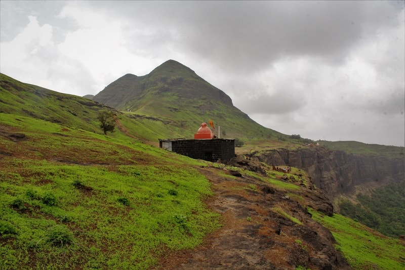 Temple at Brahmagiri Hill near Nashik city