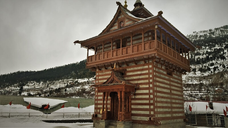 Temple at Kalpa himachal