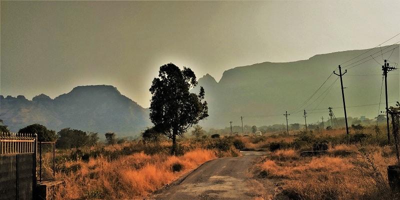 Thakurwadi village Kalavantin Durg Trek start point