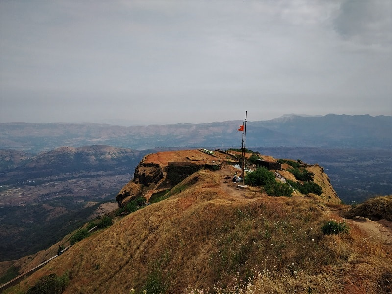 The Padmavati Maachi on Rajgad Fort Trek