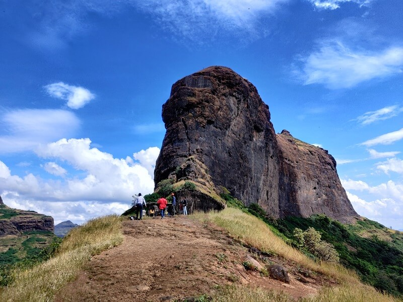 The adventurous Harihar Fort near Nashik
