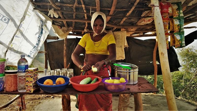 The basic food needs during Kalavantin Durg Trek