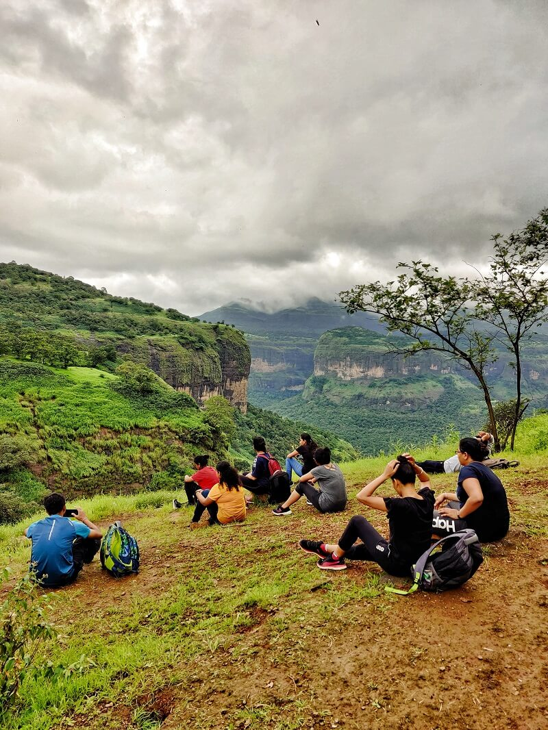 The group at Andharban trek