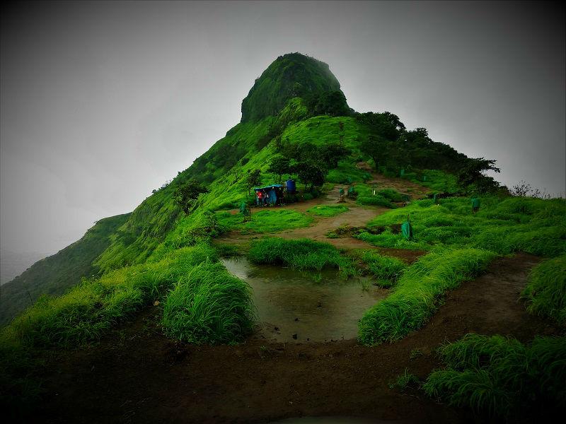 Tikona Fort Trek near Pune