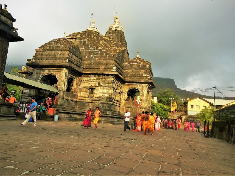 Trimbakeshwar Temple near Nashik city