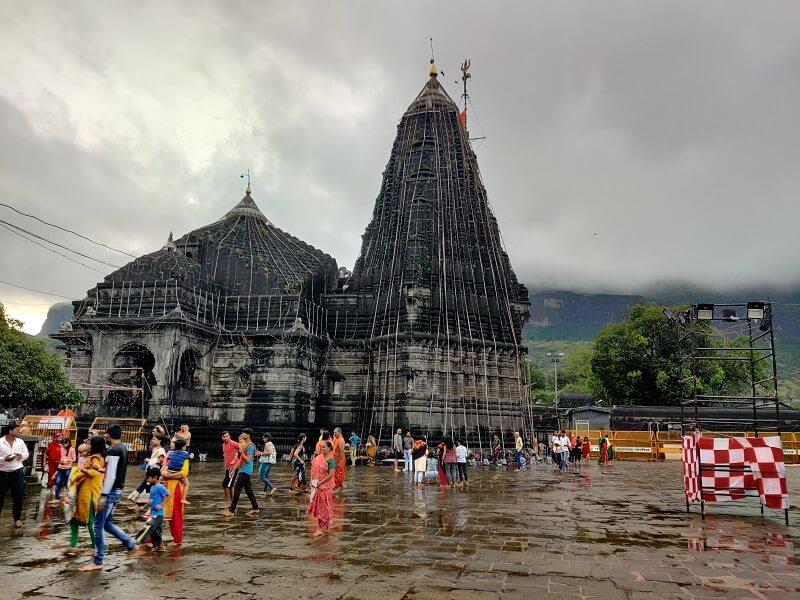 Trimbakeshwar temple near Nashik
