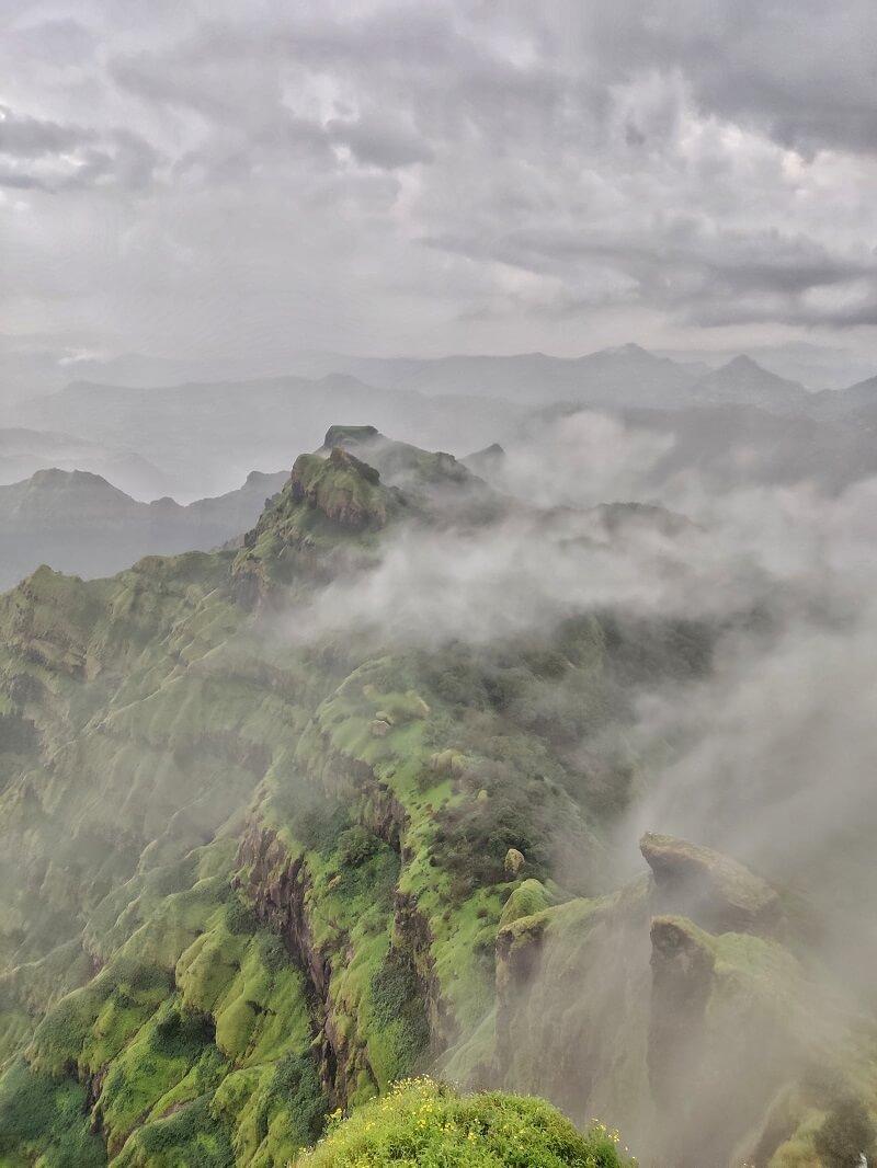 View from Arthur Seat Mahabaleshwar