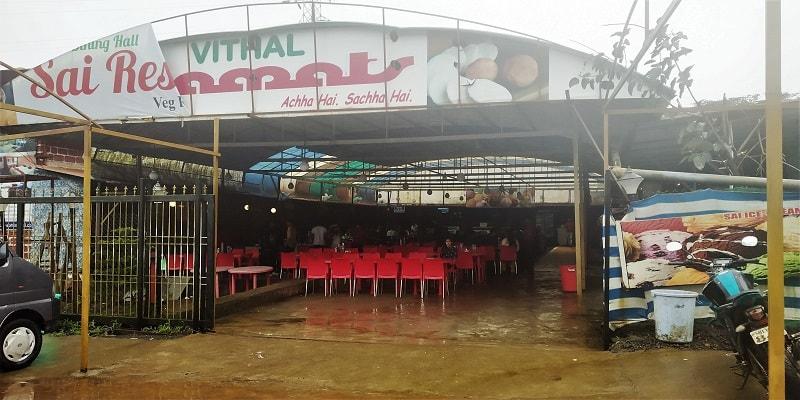 Vithal Kamat hotel Tamhini Ghat