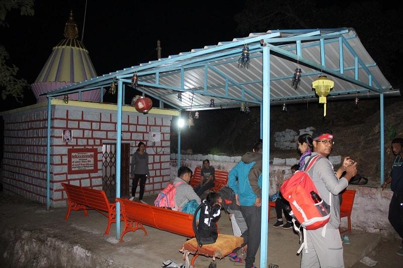Waghjai temple Katraj to Sinhgad Night Trek