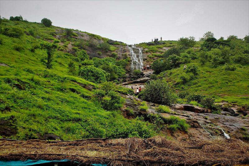 Waterfall near Pawna Lake