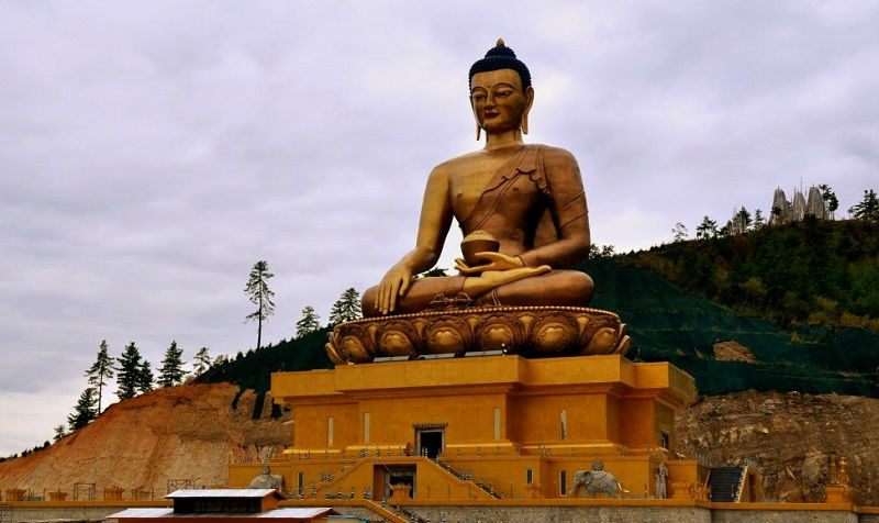 World's Largest Buddha Statue Bhutan