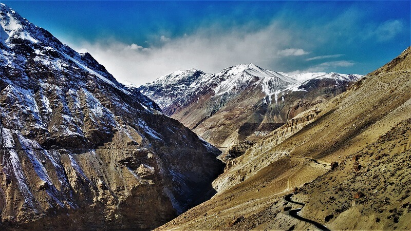 amazing scenes on way to Spiti valley