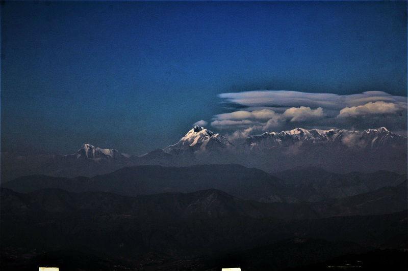 breathtaking Himalayan view Kausani Uttarakhand